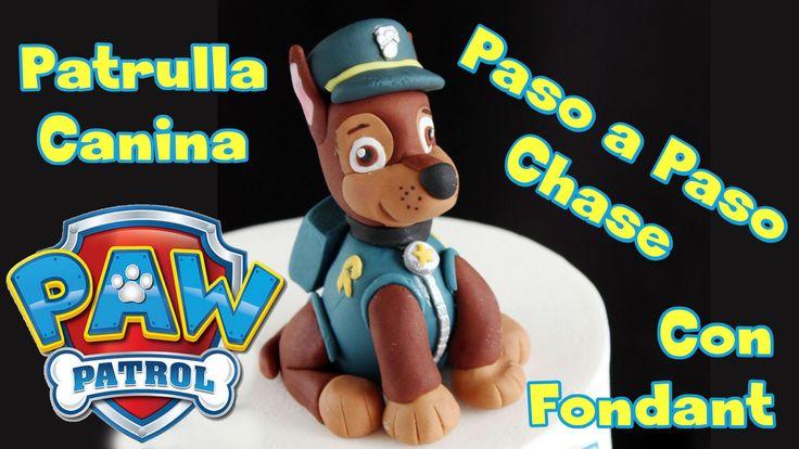 Hola! en este vídeo os enseño paso a paso a hacer con fondant a Chase, el perrito policía de PAW CONTROL, la Patrulla Canina. Para que todas las piezas de fo...