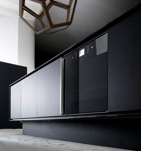 Kitchen:Eco Kitchen Expensive Black Oxone Oven On Black Recycled Eco Friendly Paper Counter Top Traffic Master Indoor Ceramic Tile Flooring ...