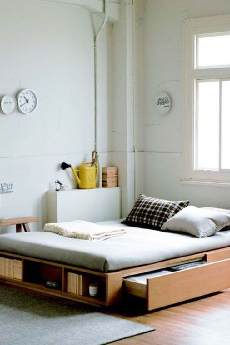Best 25 apartment space saving ideas on pinterest space - Space saving ideas for small bedrooms ...