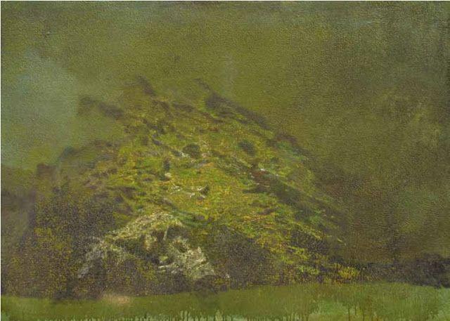 La terra verde, 2011, cm 98,5x144.