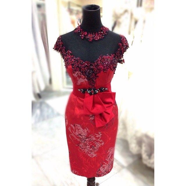 dress by Herman Arifin