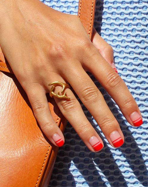 12 Spring Nail Trends to Try Now via @PureWow