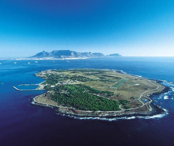 Just off the coast of Cape Town is Robben Island, a former prison and now a symbol of the anti-apartheid movement, as well as a memorial to those who were kept there for so long.
