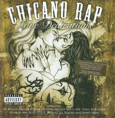 Chicano Rap: Love Dedications, Vol. 2 [CD] [PA]