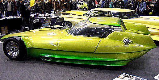 The Reactor Mach ll by Gene Winfield - Legendary Custom Car Builder