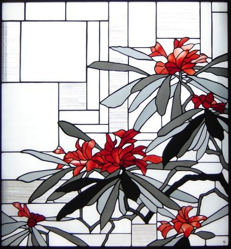 Not normally my style but i quite like this stained glass panel. tappu.com