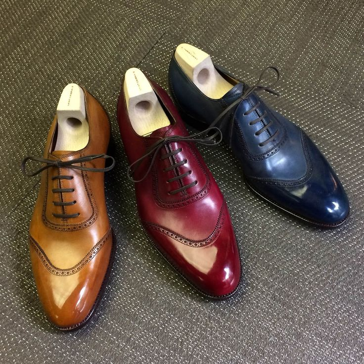 "saintcrispins: "" Saint Crispin´s model 564: u-cap oxford on classic last in various colors """