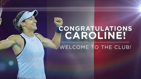 Caroline Garcia moves up to a career-high ninth in the WTA rankings following her title in Beijing as beaten finalist Simona Halep is confirmed at the summit.