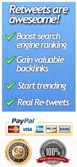 Buy Twitter Retweets