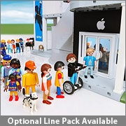 Playmobil Apple Store for April Fool's from www.thinkgeek.com: Apple Playmobil, Toy, Store Playset, Store Playmobil, Lego, Playmobil Apple
