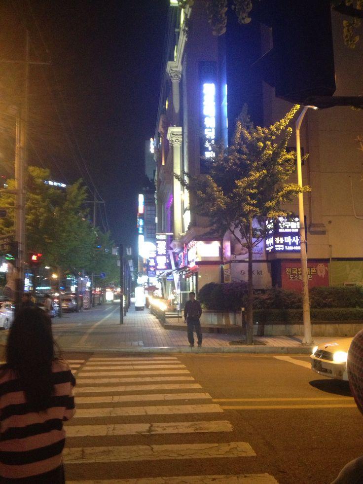 Night at Suwon