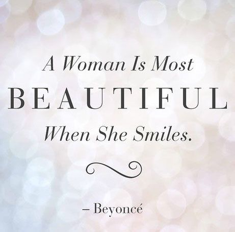 Quotes On Beauty Unique Beauty Quotes A Women Is Most Beautiful When She Smiles Quotes