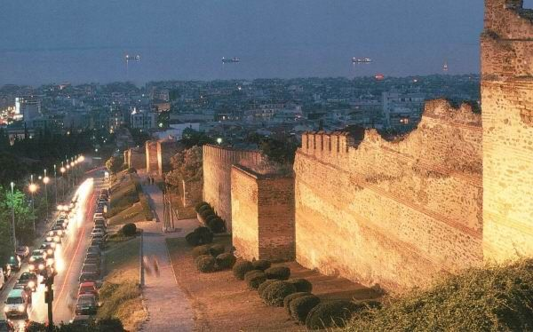Kastra, Thessaloniki (view from castle walls)