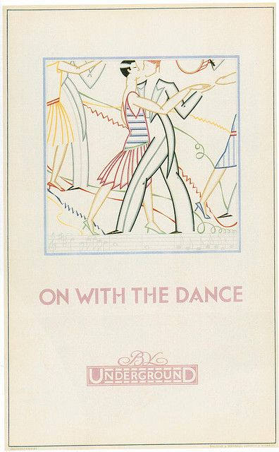 London Underground Poster,Dance