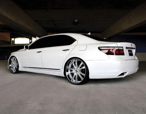Asanti Af159 Custom Painted On Lexus Ls 460