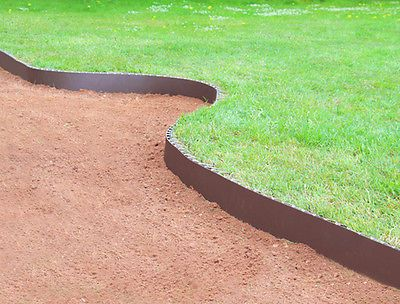 Smartedge easy lawn edging #brown #border fence #garden neat landscaping plastic,  View more on the LINK: http://www.zeppy.io/product/gb/2/331573059414/