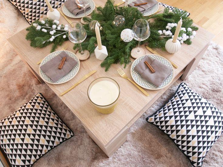 Les 36 meilleures images propos de table pour les f tes for Decoration table nouvel an