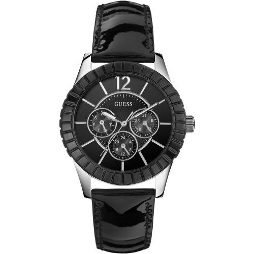 Guess W95134L2 Ladies Facet Black Watch * You can find more details by visiting ...