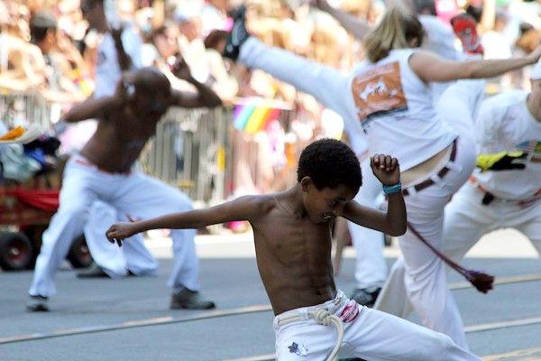 La #capoeira, un de ces #sports qui nous viennent du #Brésil