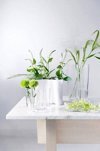 IIttala Aalto vases styled by Susanna Vento
