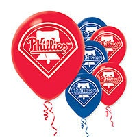 Phillies balloons