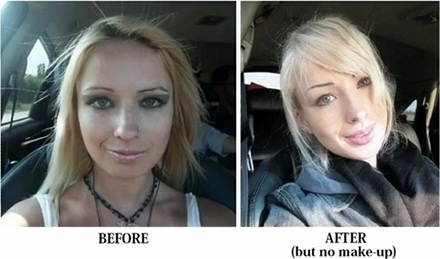 Valeria Lukyanova Before And After