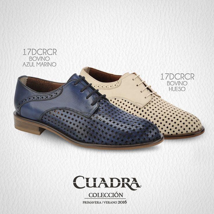 Reinventamos los #zapatos tipo Oxford. #CUADRA #FrancoCUADRA #Shoes #Leather