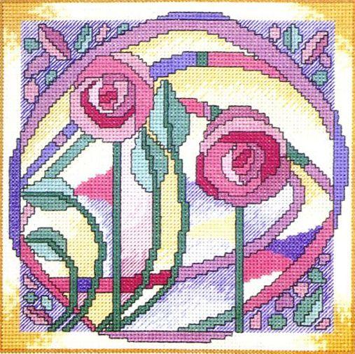 Розы макинтош
