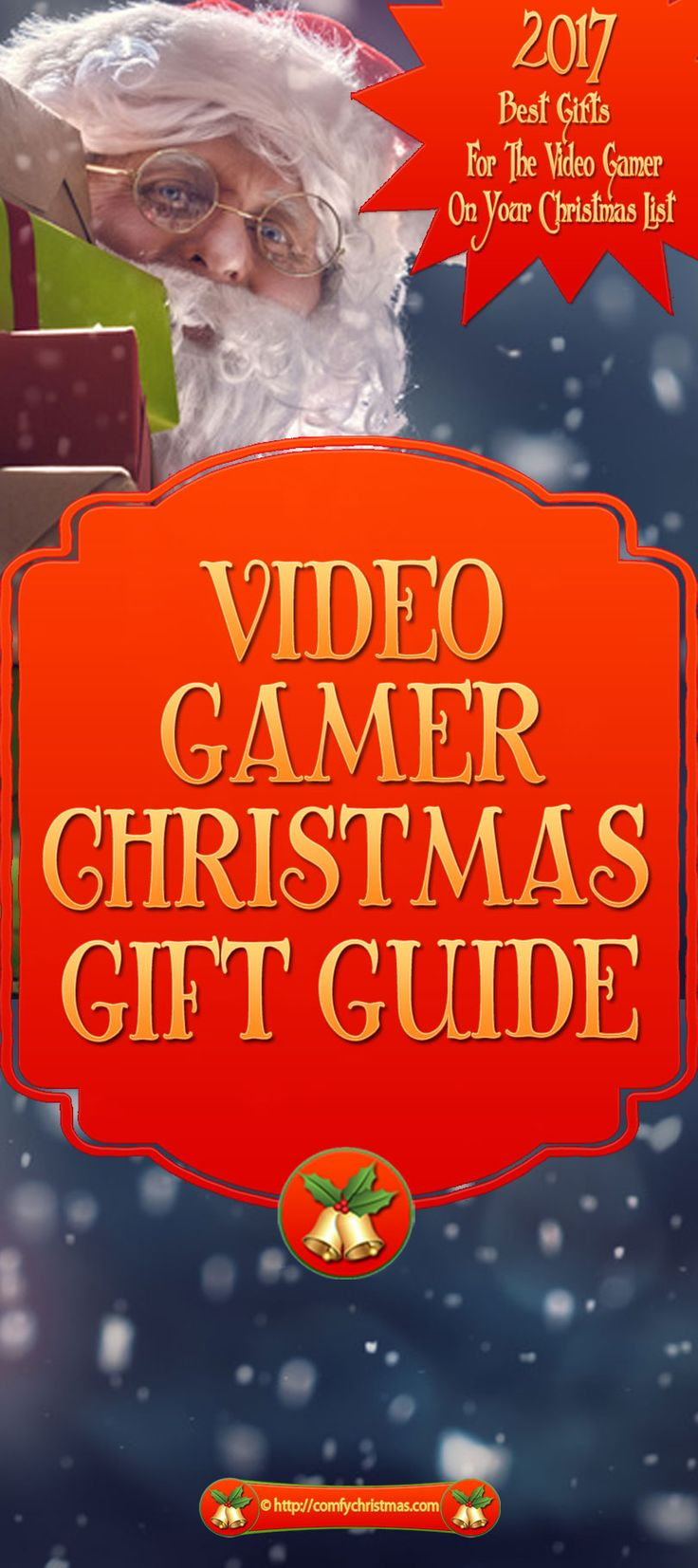 Are you looking for Video Gamer Gifts? If you're searching for gaming gifts for your boyfriend, husband, or kids this 2017 Video Gamer Gifts Guide will give you an idea of what the HOT selling products are for this holiday season.