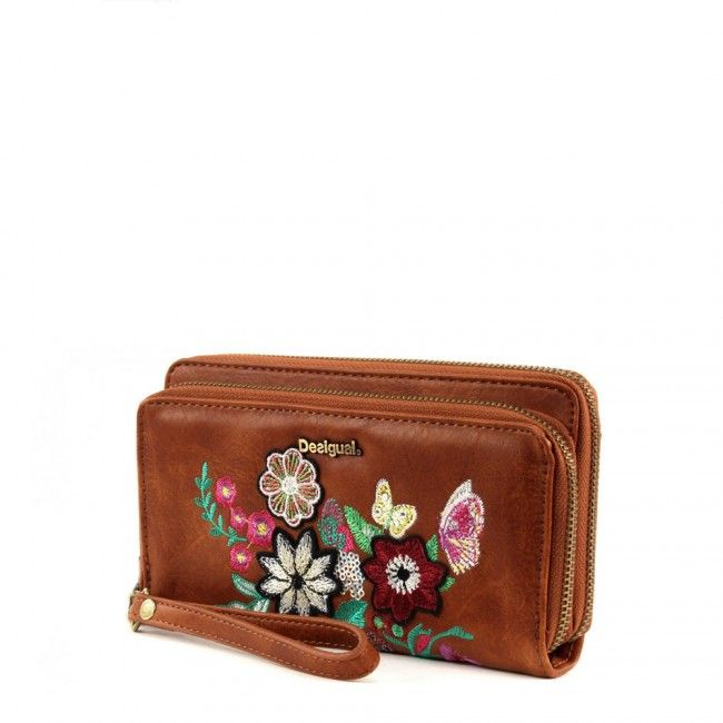 Portafoglio Desigual due comparti Lily 67Y53J5 - Scalia Group #desigual #borse #donna #handbags #color #winder #fallwinter #women #wallets #portafogli #money