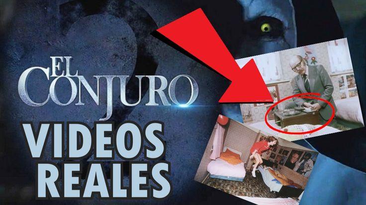 La Historia Real en la que se Basó El Conjuro 2 VIDEOS REALES (Poltergei...