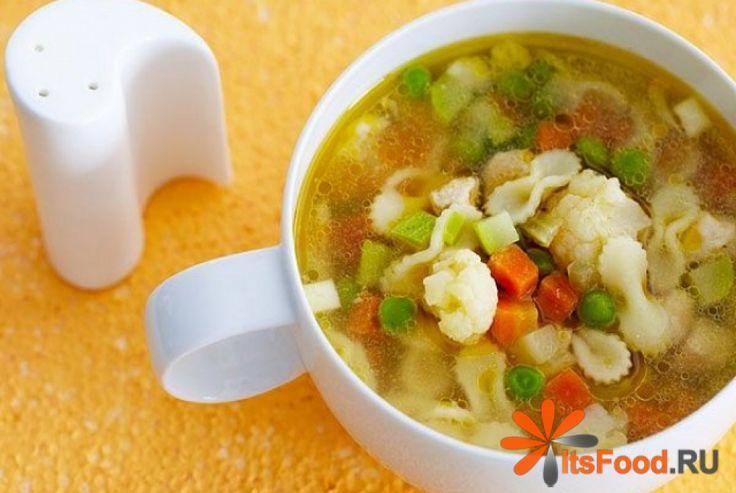 Минестроне с курицей http://ricettio.com/recipe-1700-minestrone-s-kuritsey  Этот овощной суп на курином бульоне является традиционным итальянским блюдом. И он отлично впишется в летнее меню.
