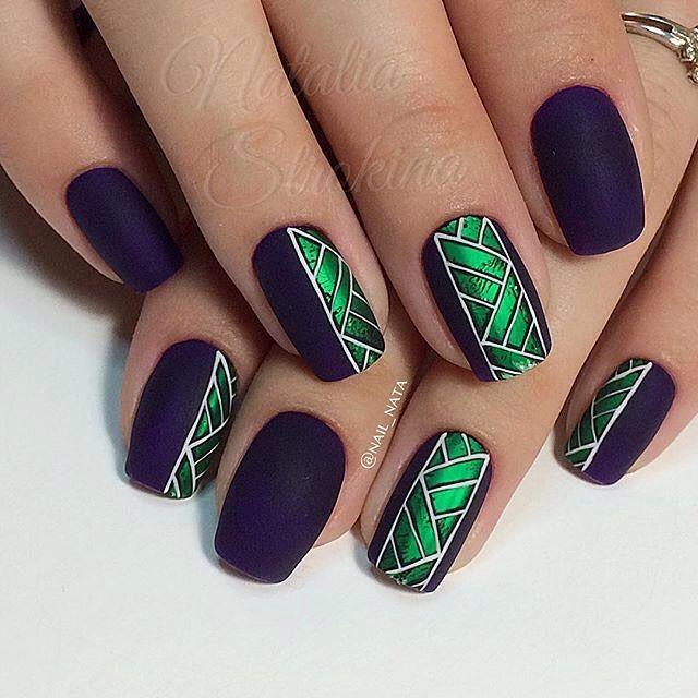 Автор @nail_nata  #роспись #nail #дизайнногтей #nailart #руки #nailclub…