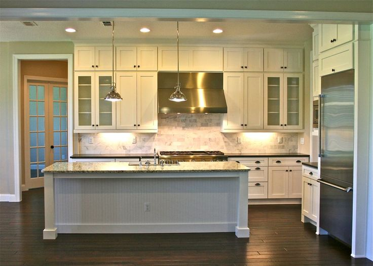 Small Kitchen Island Layout