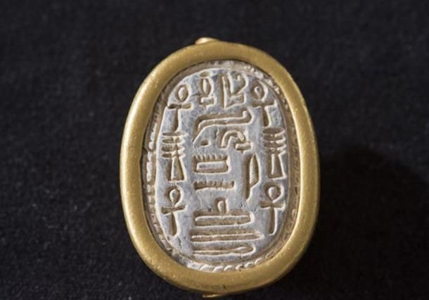 Unique Scarab Seal from Egyptian Thirteenth Dynasty Discovered in Israel | Ancient Origins