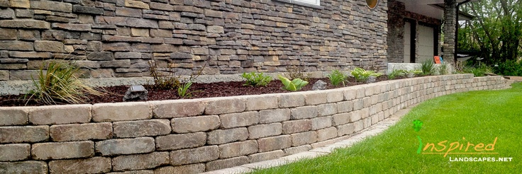 A retaining wall adds height and helps create a seamless transition from your home into your outdoor space.