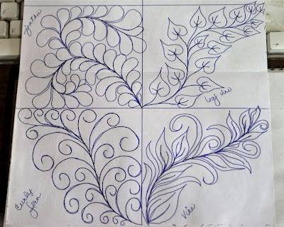 Drawing Lines For Quilting : Best free motion quilting patterns images