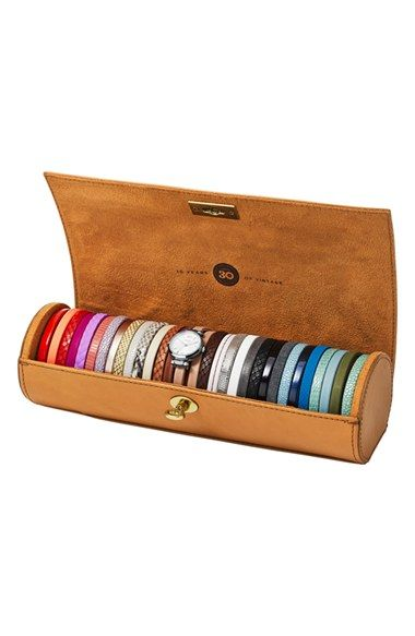 FOSSIL Limited Edition Round Watch & Interchangeable Strap Set