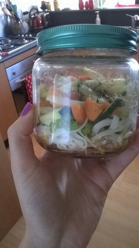 Homemade 2 minute noodles gluten free