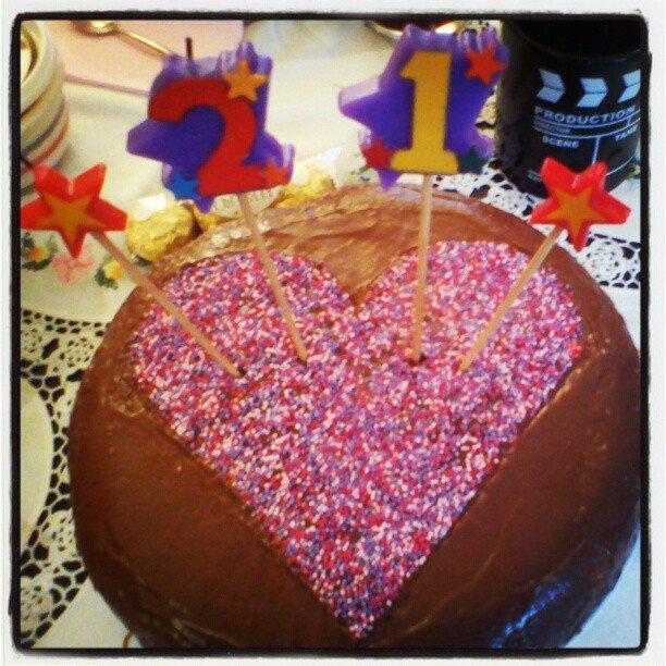 My 21st cake!