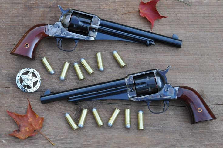 Uberti 1875 Army Outlaw This knockoff of the 1875 Remington is made distinctive by the web underneath the barrel that serves no useful purpose.