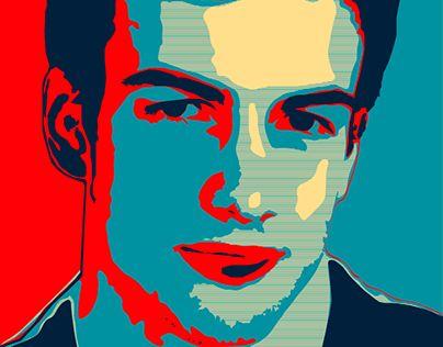 "Check out new work on my @Behance portfolio: ""Pop art portrait"" http://on.be.net/1HYDpet"