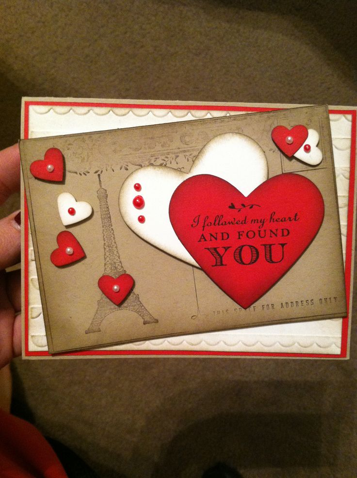 Made In A Valentines Card Class Cards That Ive Made
