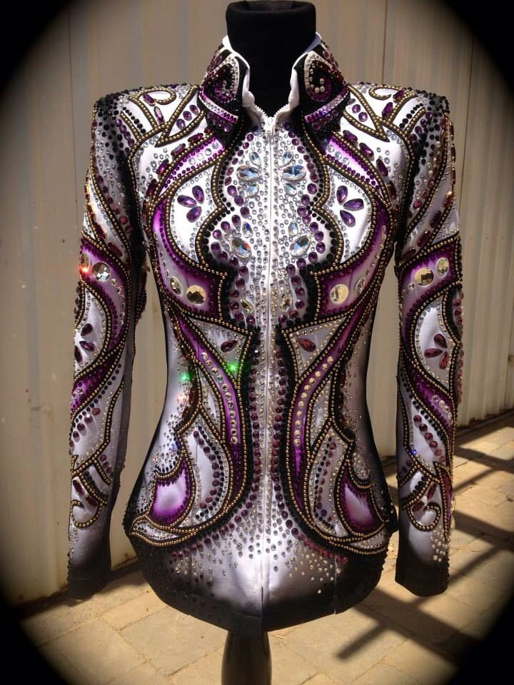 Lindsey James show jacket