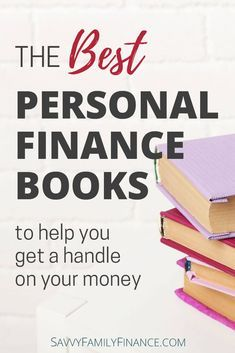 the top personal finance books to get a handle on your money