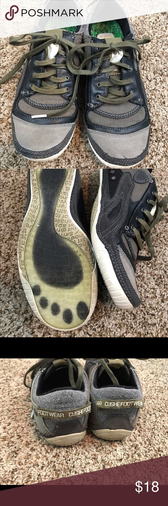"""Cushe Mens Size 7 Tennis Sneakers Shoes Barely Worn. Cushe Mens Size 7 Shoes. Durable. Lace up.   Approx 10 3/4"""" in length along the bottom.    Your business is appreciated. and If you like what you see, browse our Store to find more items you will love. Cushe Shoes Athletic Shoes"""