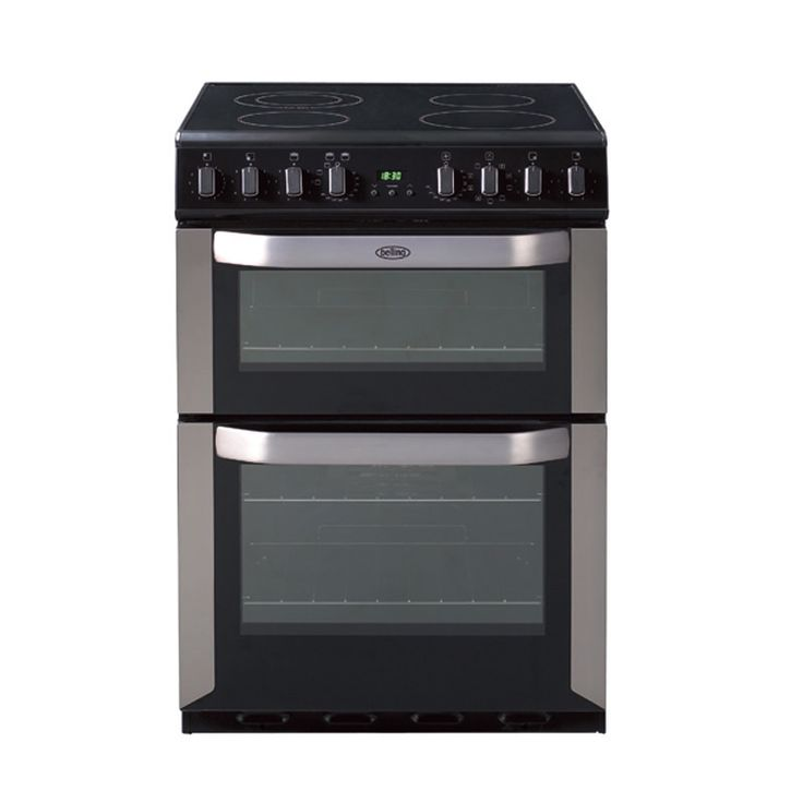 Freestanding 60cm electric multi-function double oven with programmable timer #Belling #UKmade #madeinBritian #British #cooker