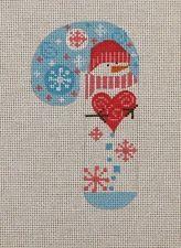 Danji /ч конструкции снеговика Красное сердце конфеты тростника Ручная вышивка…