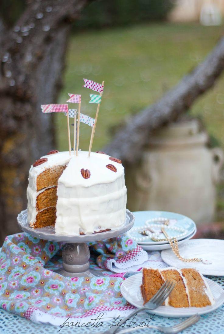 Pancette's Birhday Carrot Cake