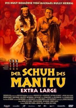Der Schuh des Manitu Extra Large  2001 Germany      Jetzt bei Amazon Kaufen Jetzt als Blu-ray oder DVD bei Amazon.de bestellen  IMDB Rating 6,3 (8.127)  Darsteller: Michael Herbig, Christian Tramitz, Sky du Mont, Marie Bäumer, Hilmi Sözer,  Genre: Comedy, Western,  FSK: 6